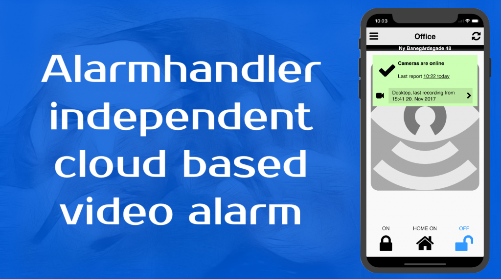 independent video alarm